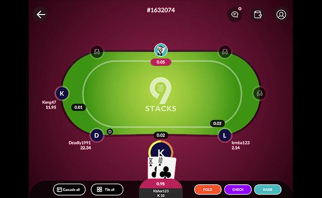 9stacks understands that poker