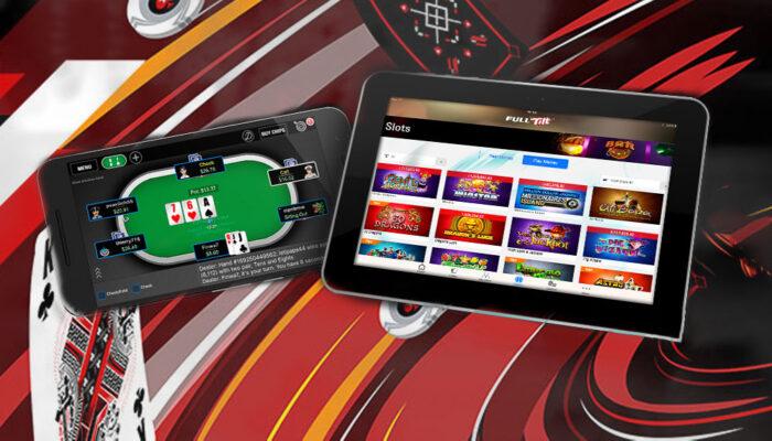 Some features of mobile Full Tilt Poker