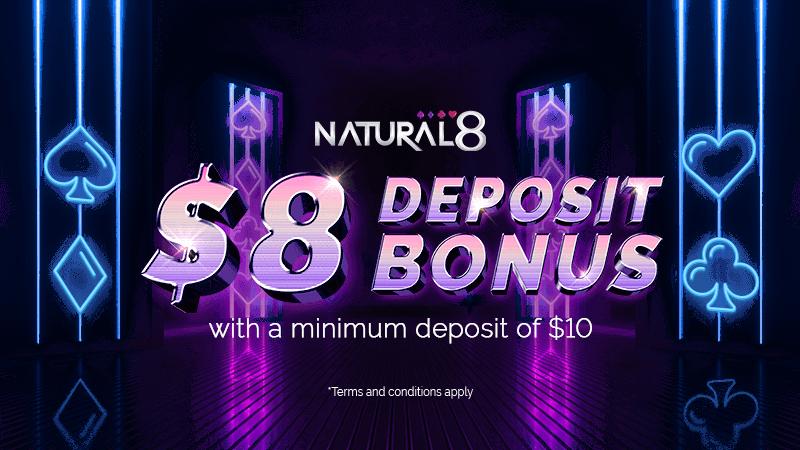 Natural8 Poker cashbacks