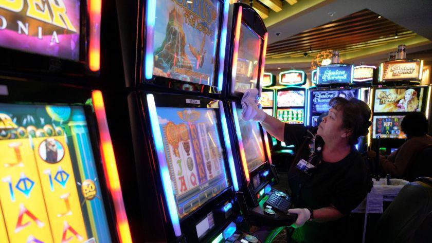 Offline casino gaming.