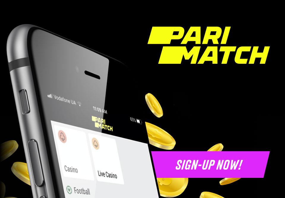 Parimatch Casino for mobile.
