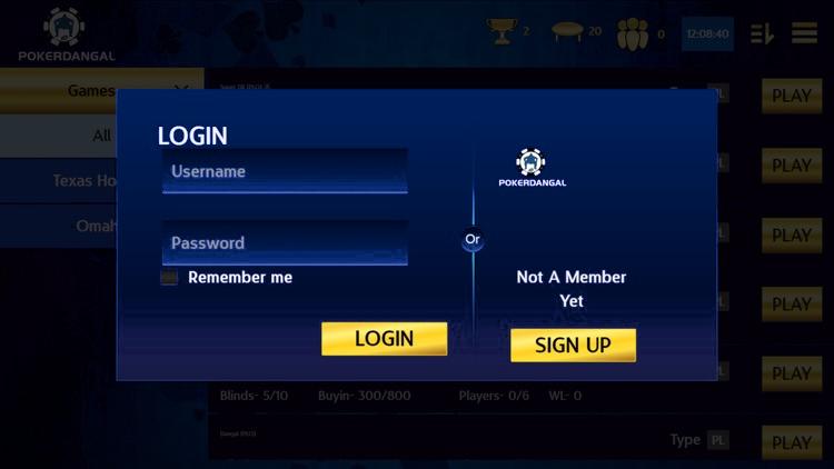 PokerDangal registration
