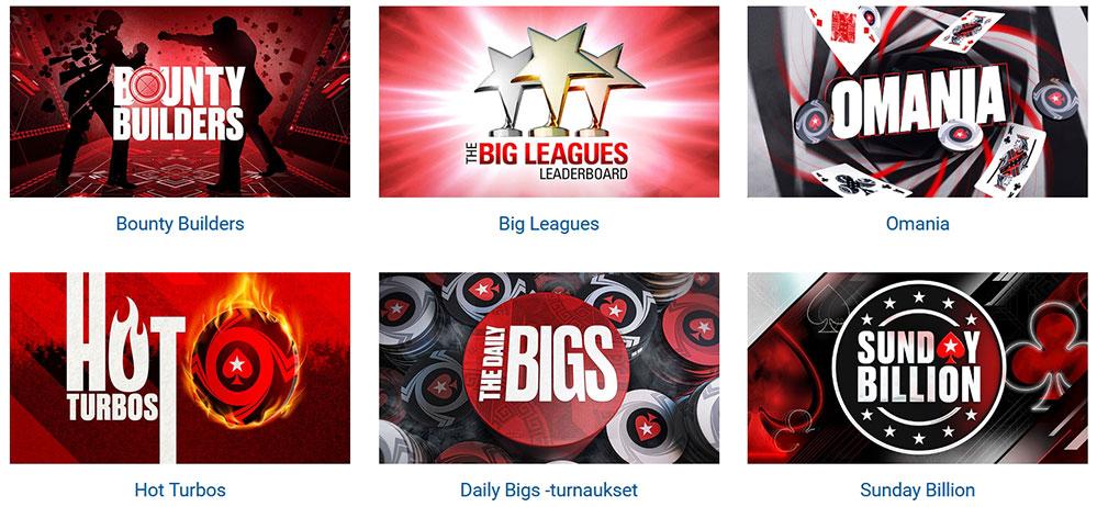 PokerStars India tournaments.