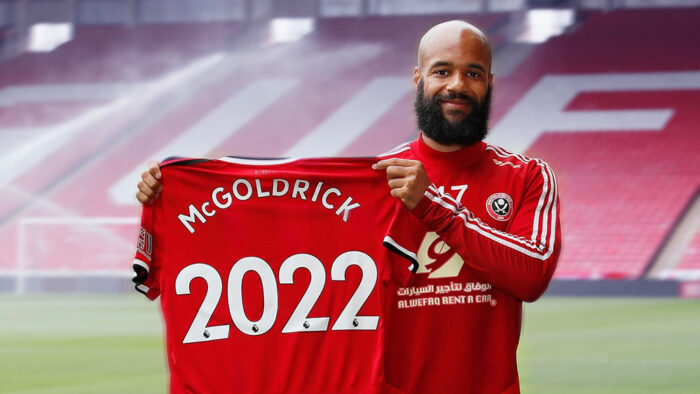 David McGoldrick extended his transfer from United until 2022