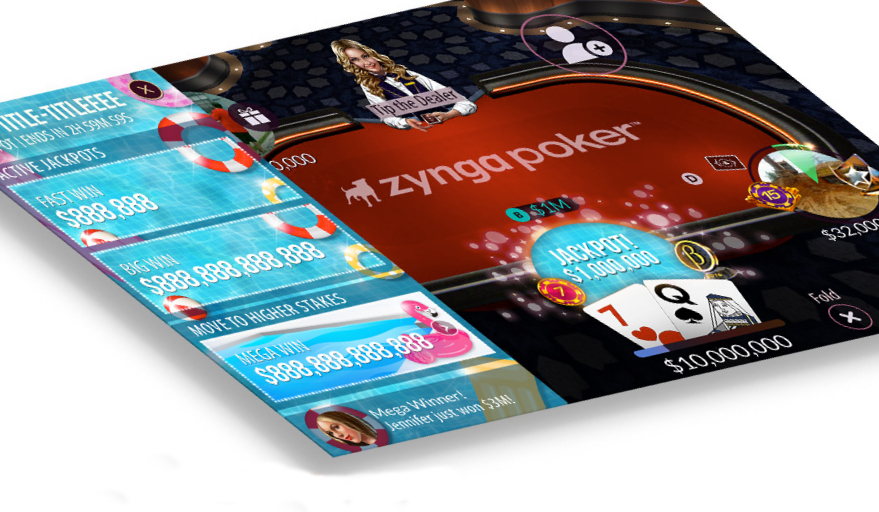 play the game Zynga Poker on PC