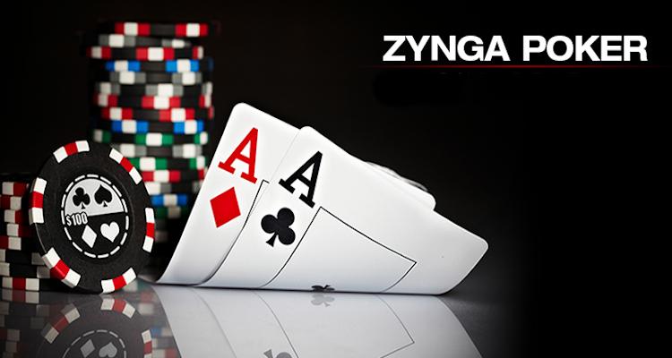 Zynga poker in computer